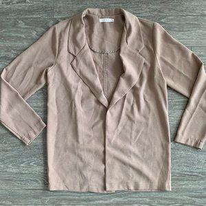 Lush | Novack Crepe Blazer | Walnut | S
